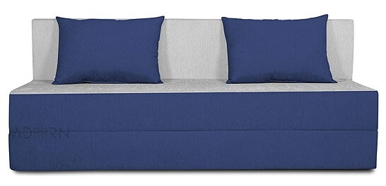 Adorn India Easy Three Seater Sofa Cum Bed