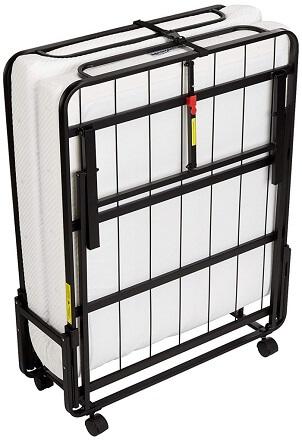 AmazonBasics Premium Single Folding Steel Bed