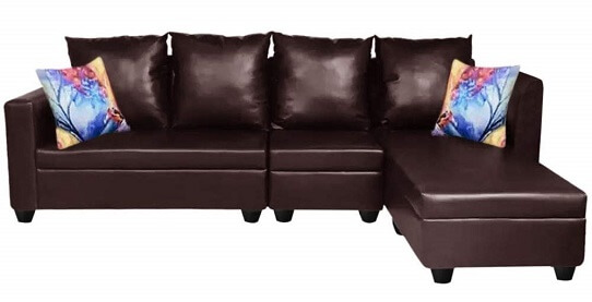 Carol 6 Seater RHS L Shape Sofa Set