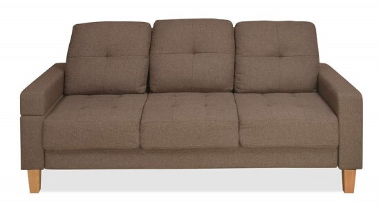 Nilkamal Liliana Three Seater Sofa Cum Bed