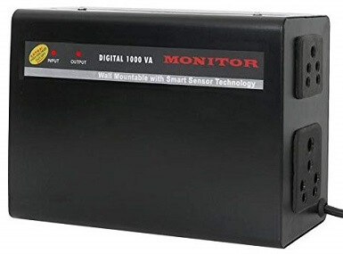 MONITOR (100% Copper) Voltage Stabilizer for LED TV