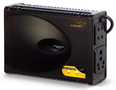 V-Guard Crystal Plus Supreme TV Voltage Stabilizer