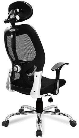 Savya Home APEX  High Back Engineered Plastic Frame Office Chair
